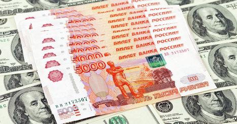 Онлайн котировки доллар рубль