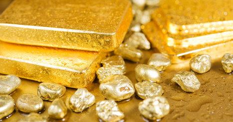 История котировок золото