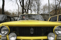 Автолюбители Екатеринбурга отметили 40-летие модели ВАЗ-2101