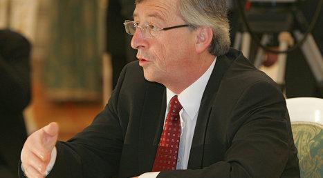 Глава Еврогруппы Жан-Клод Юнкер