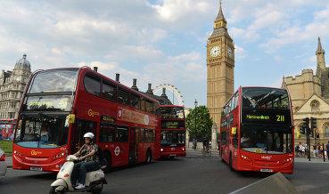 Лондон переведет часть автобусов на биотопливо из кофейной гущи