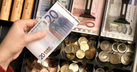 Курс евро наличный