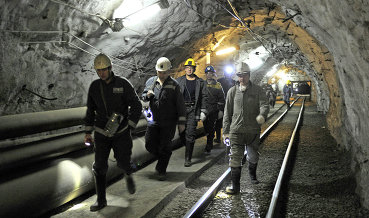 """Работа шахты """"Распадская"""" приостановлена из-за пожара, акции компании резко упали"""