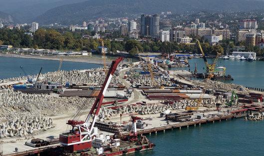 морского порта в Сочи