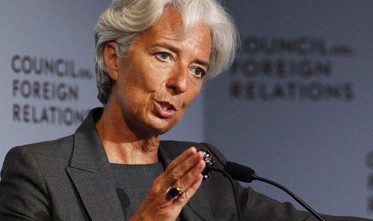 Выступление главы Международного валютного фонда (МВФ) Кристин Лагард