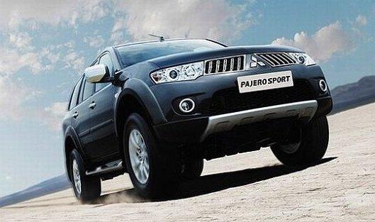 Mitsubishi в 2013 году планирует начать выпуск Pajero Sport в Калуге