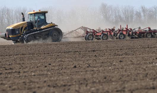 Динамика кредитования сезонных полевых работ