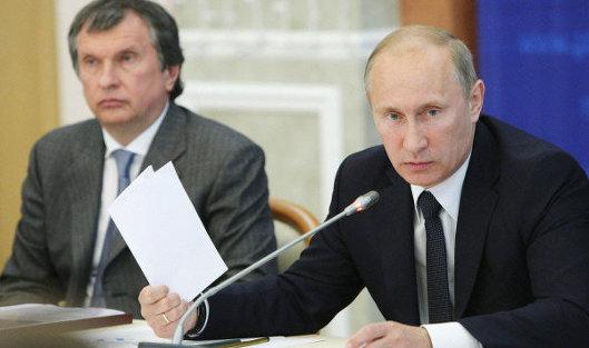 ВКремле сообщили, что Путин непринимал решений поприватизации «Башнефти»