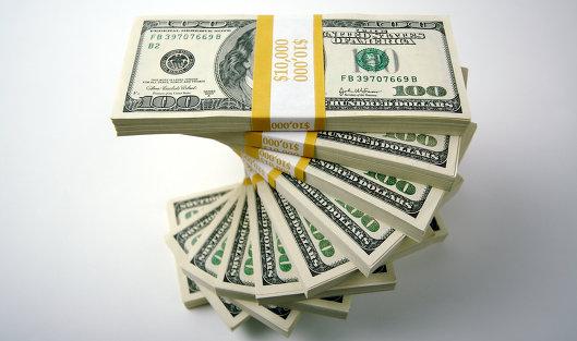 #Долларовые банкноты