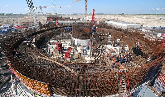 Строительство атомной