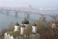 Вид города Нижний Новгород