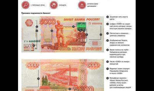 5000 рублей: как определить подлинность купюры и что делать с ...