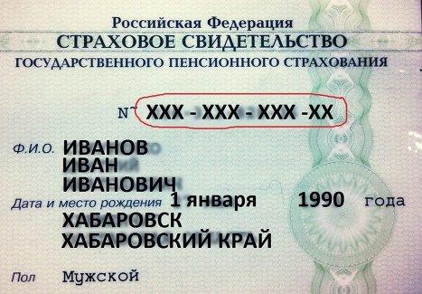Заявление на снилс воронеж - a09a