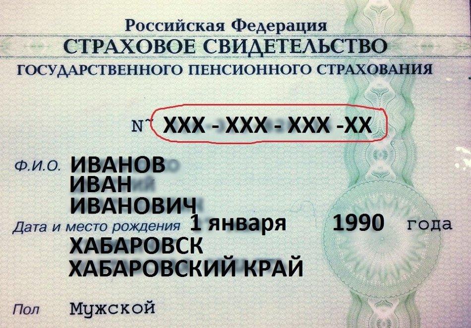 Заявление на снилс для иностранных граждан - e1ca3
