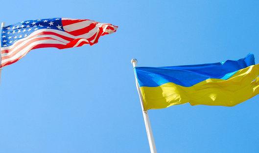 #Флаги США и Украины