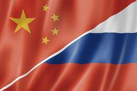""""""" Флаги Китай-Россия"""
