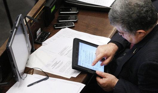 Заседание Совета Федерации РФ. 13 октября 2010 года