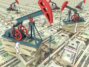 Нефтяные насосы и долларовые купюры