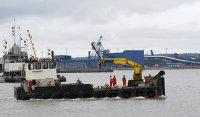 Судно в акватории морского порта Усть-Луга