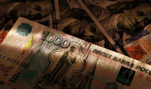 Мосбиржа: руб.  снижается кдоллару иевро нафоне нефти