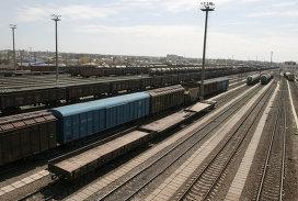 Вагоны на железной дороге