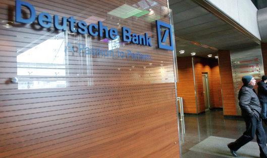 ЦБ установил факт манипулирования «голубыми фишками» менеджером Дойче Банка