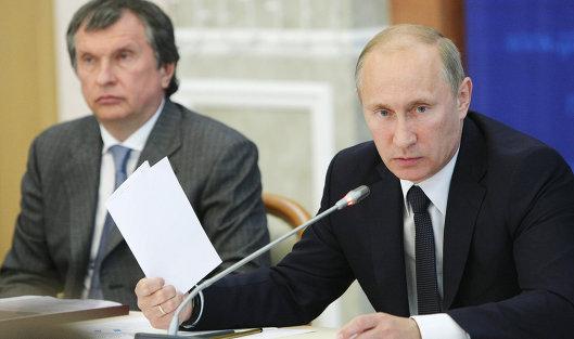 Путин допустил участие иностранных инвесторов вприватизации «Роснефти»