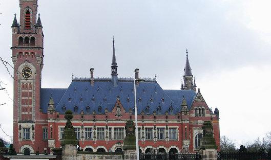 # Здание Международного суда ООН в Гааге