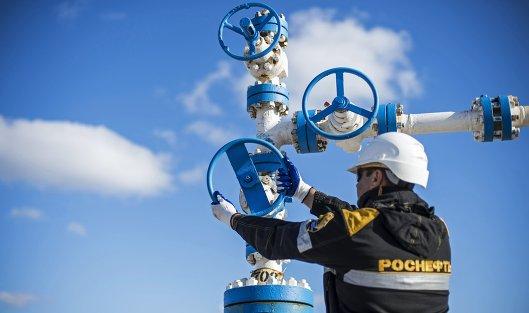 «Роснефть» впервом полугодии увеличила добычу газа на7 процентов