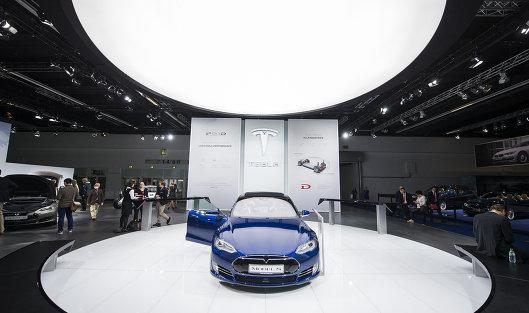 #Беспилотный автомобиль Tesla Model S