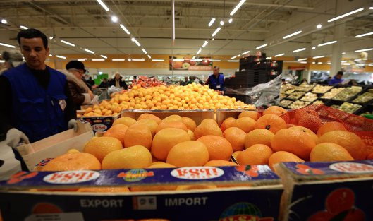 Турецкие фрукты возвращаются на русские прилавки