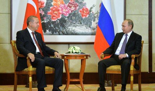 Путин иЭрдоган обсудили снятие Россией запрета напоставки продукции Турции