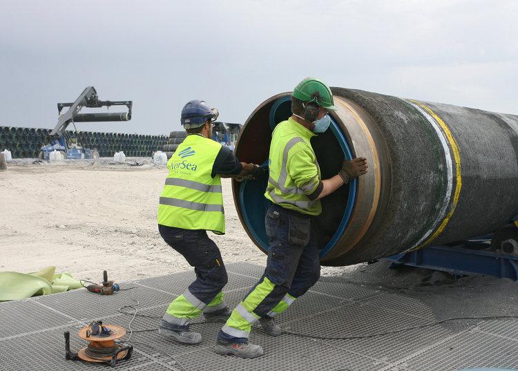 """Cтроительство газопровода """"Северный поток"""" (Nord Stream)"""