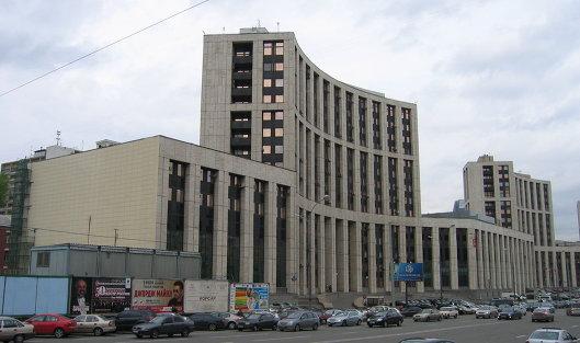 #Здание Внешэкономбанка в Москве