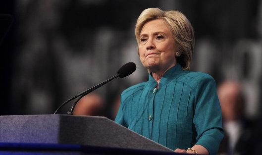 Клинтон извинилась зато, что проиграла
