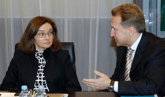 Шувалов поручил подвергнуть анализу передачу работы аудиторов под контрольЦБ