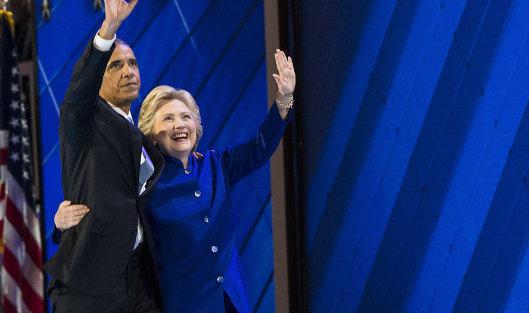 Обама: Клинтон должна одолеть , подругому  все было напрасно