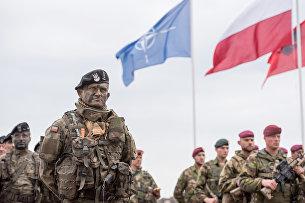 """"""" Учения НАТО в Польше"""