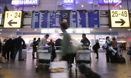 Москва отменила неменее ста рейсов