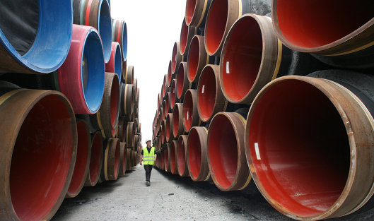 Газпром разорвал соглашение владельцев акций построительству «Северного потока-2»