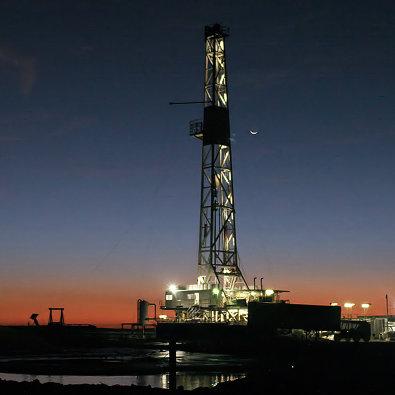 #Буровая установка для геологической разведки в Техасе, США