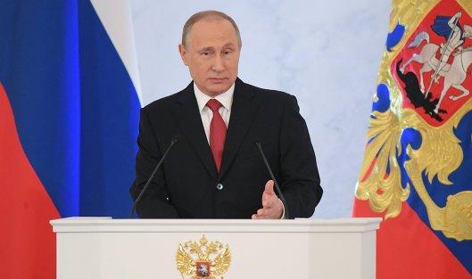 Путин назвал тупым вывод Литвы обугрозе судейКС РФбезопасности страны