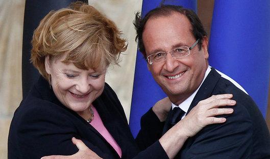 826928039 - Меркель и Олланд рекомендуют странам ЕС продлить санкции к России