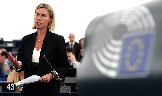 826932251 - Могерини: Санкции Евросоюза против РФ останутся независимо от позиции США