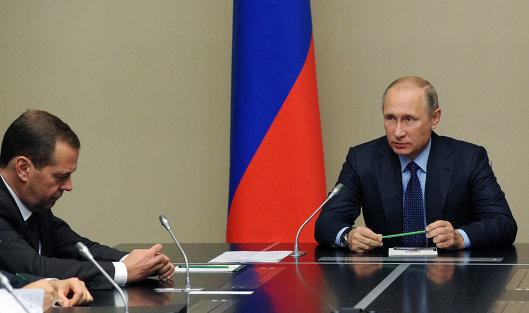 Путин одобрил работу руководства в этом году