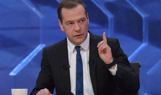 Падение русской экономики закончилось— Медведев