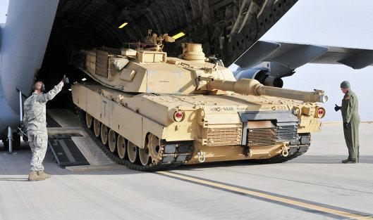 Американские танки достигли Германии для отправки вВосточную Европу