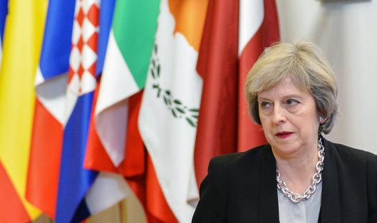 #Премьер-министр Великобритании Тереза Мэй