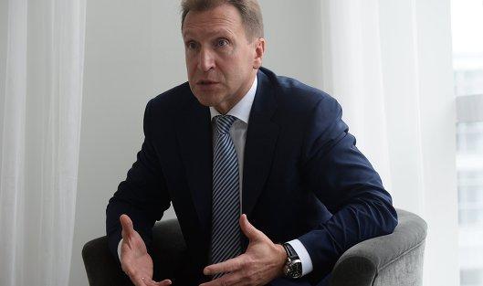 Шувалов услышал вДавосе похвалу российскому бизнес-климату