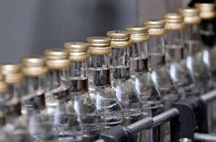 Конвейерная линия по производству водки